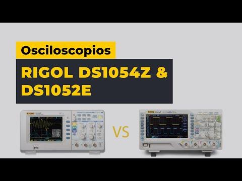 Revista comparativa de osciloscopios Rigol DS1054Z y DS1052E