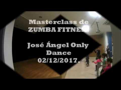Masterclass Zumba Fitness- José Ángel Only Dance.