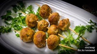 চিকেন মিটবল - সিপি স্টাইলে | Bangla Recipe of CP Style Chicken Meatball