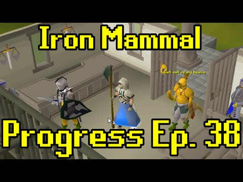Oldschool Runescape - 2007 Iron Man Progress Ep. 38 | Iron Mammal