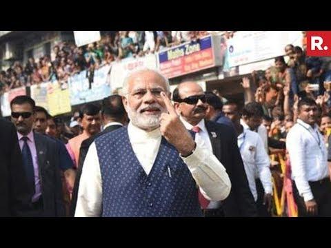 Congress Slams PM Modi's Post-Vote Walk