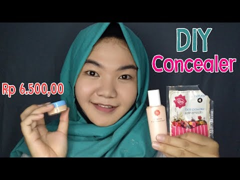 DIY #04 : DIY Concealer by Viva Cosmetics Products | Local Brand Indonesia | Nadia Hasyir (BAHASA)