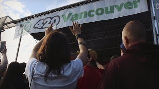 420 Vancouver | World's Biggest 420 Public Smoke Out ❗❗