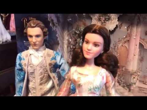 Beauty And The Beast Royal Celebration Doll Set By Hasbro