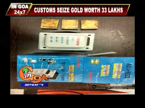 Gold Smuggling at Dabolim Airport