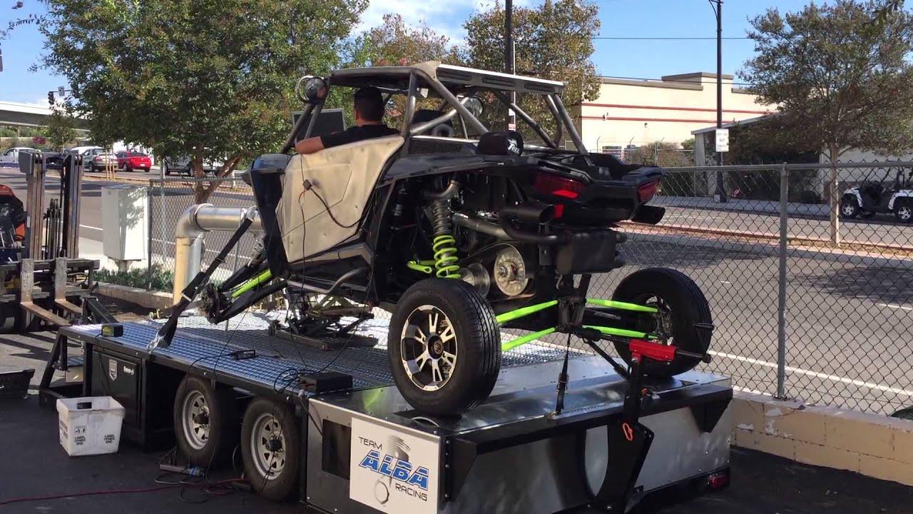 Alba Racing built XP1000 K&T turbo @ 16psi