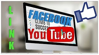 How To Add Facebook Link To Youtube Channel Art 2017