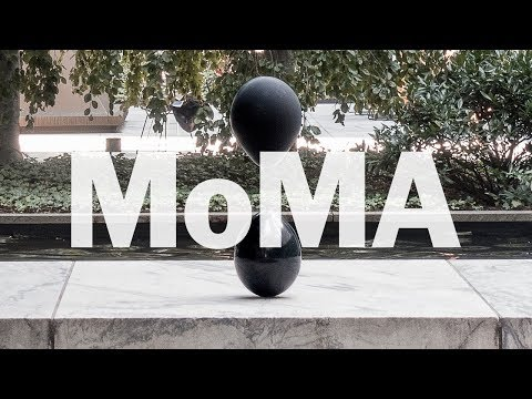 Art Project Black Balloons by Tadao Cern at MoMA, New York