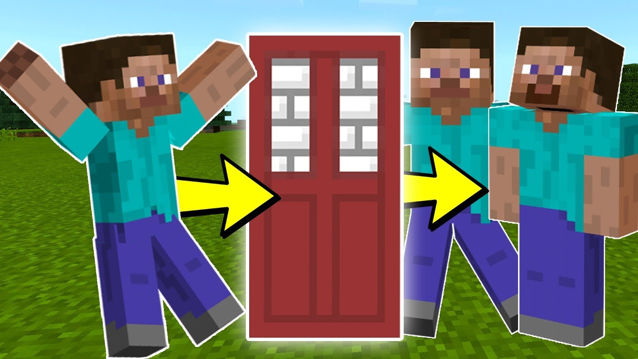 How to CLONE STEVE in Minecraft Pocket Edition  YouTube