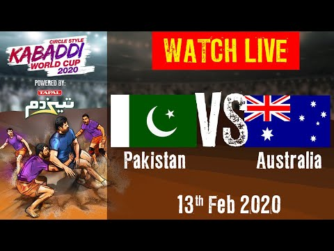 Kabaddi World Cup 2020 Live - Pakistan Vs Australia - 13 Feb - Match 14 | BSports