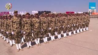 الفريق صدقي صبحي يشهد الاحتفال بتكريم المجندين الرديف المشتركين في العملية الشاملة سيناء 2018