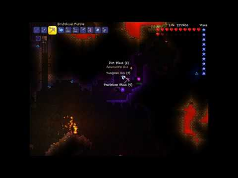 Terraria Let's Play: #10 Search for the Red Ore