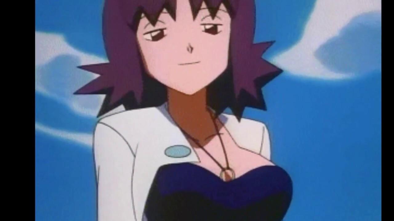 Pokemon Professor Ivy gif - YouTube  Pokemon Profess...