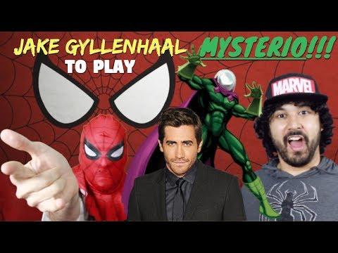 JAKE GYLLENHAAL is MYSTERIO in SPIDER-MAN: HOMECOMING 2!!!