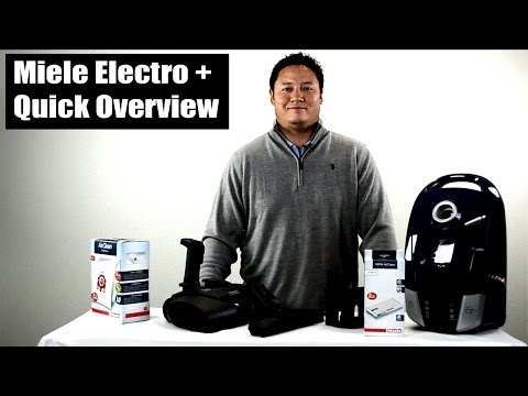 Miele Electro + C2 Compact Canister Vacuum - Quick Overview