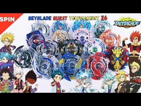 Beyblade Burst Tournament 26 A Combined Copy 베이블레이드 버스트 토너먼트 26회 16강 / 결승 합본 ベイブレードバーストトーナメント26