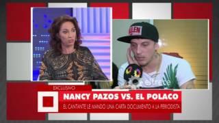 Nancy Pazos vs.  el Polaco, las asperezas quedaron en el pasado