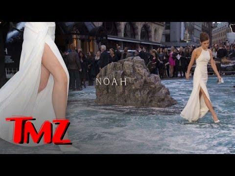 Emma Watson Stunning At Noah Premiere