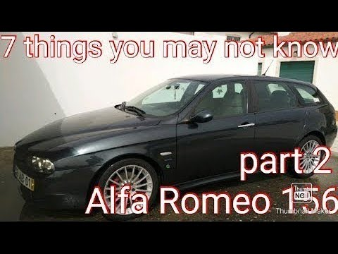 Download Part 2. 7 things you may not know about Alfa Romeo 156. Transversal to other makes and models!