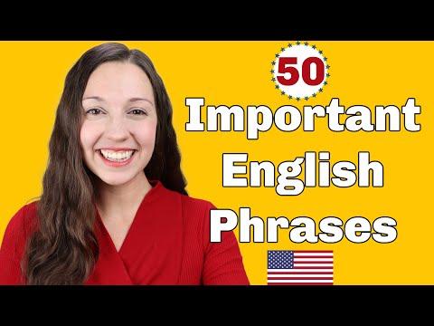 50 Important English
