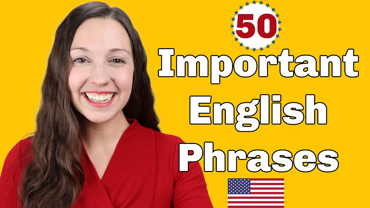 Download 50 Important English Expressions for daily conversation