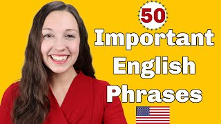 50 Important English Expressions for daily conversation