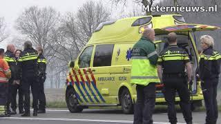 Twee doden en twee zwaar gewonden na ongeval Veenhuizen/Oosterwolde
