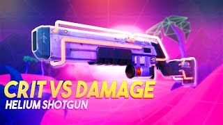 Critical Rate & Critical Damage Vs Damage | Helium Shotgun | Fortnite Save The World
