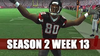 EPIC THRILLER - MADDEN 2007 FALCONS FRANCHISE VS TEXANS (S2W13)