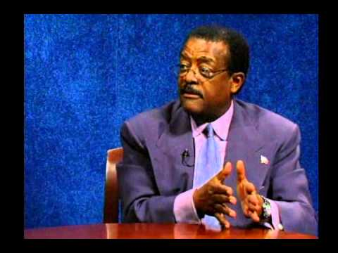 Johnnie Cochran Interview on TV Show Freedom Quest - Part 3 OJ Trial