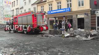 Germany: Hamburg wakes up to gutted shops and burnt-out barricades after night of clashes