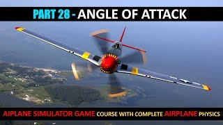 Angle Of Attack Airplane In Unity - Part 28 | Airplane Simulator Game Course In Urdu/Hindi