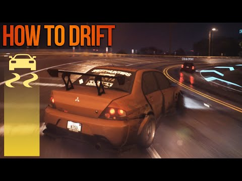 Need for Speed 2015 Drifting Gameplay How to Drift in NFS Tips!