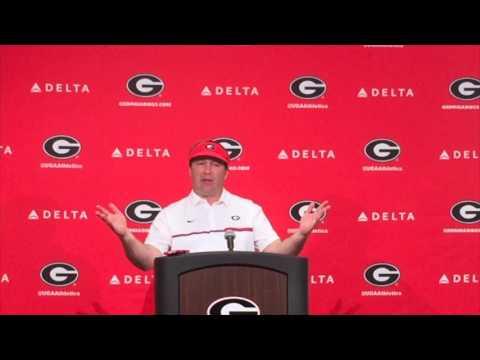 UGA Coach Kirby Smart talks G Day
