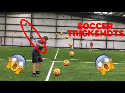 AMAZING Soccer Trickshots?!!