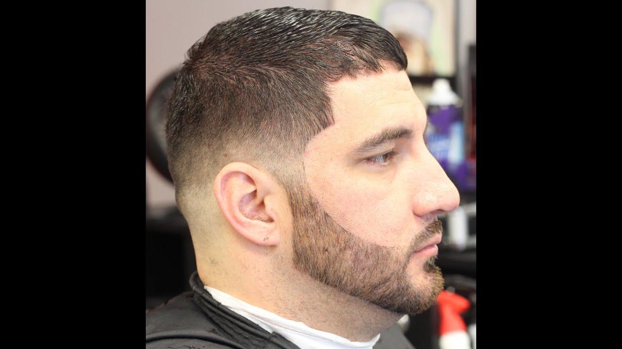 bald fade drop haircut