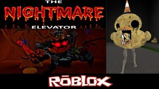 the NIGHTMARE elevator By bigpower1017 [Roblox]