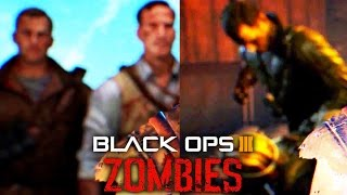 THE CREW KILLING EACH OTHER! TAKEO MEMORIES TRAILER BREAKDOWN! (Black Ops 3 Zombies DLC 4)