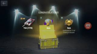 Wot blitz 'Chest opening' :)
