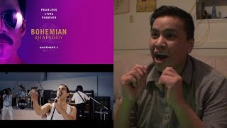 BOHEMIAN RHAPSODY | Official Teaser Trailer [HD] Reaction | 20th Century FOX