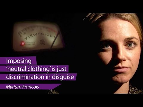 Myriam Francois: Headscarf ban 'discrimination in disguise'  Viewsnight