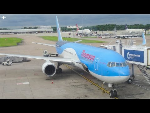 Thomson B767-300 Cabin Tour+ Onboard Takeoff from Manchester Airport-23rd July 2016