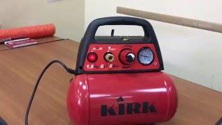 Безмасляный компрессор kirk nv6(Принцип работы безмасляного компрессора kirk nv6. Подключение пневмоинструмента. Купить компрессор можете..., 2016-04-26T08:24:10.000Z)