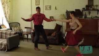 Буги-вуги, клубный рок-н-ролл быстрый танец