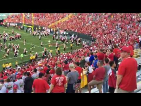Badgers 5th Quarter At Lambeau Field Youtube