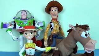 История Игрушек - Toy Story.Обзоры игрушек шериф Вуди, Джесси и Булзай
