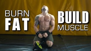 WORKOUT That Will BURN FAT & BUILD MUSCLE! | FULL DAY OF TRAINING | Dedicated Ep.9