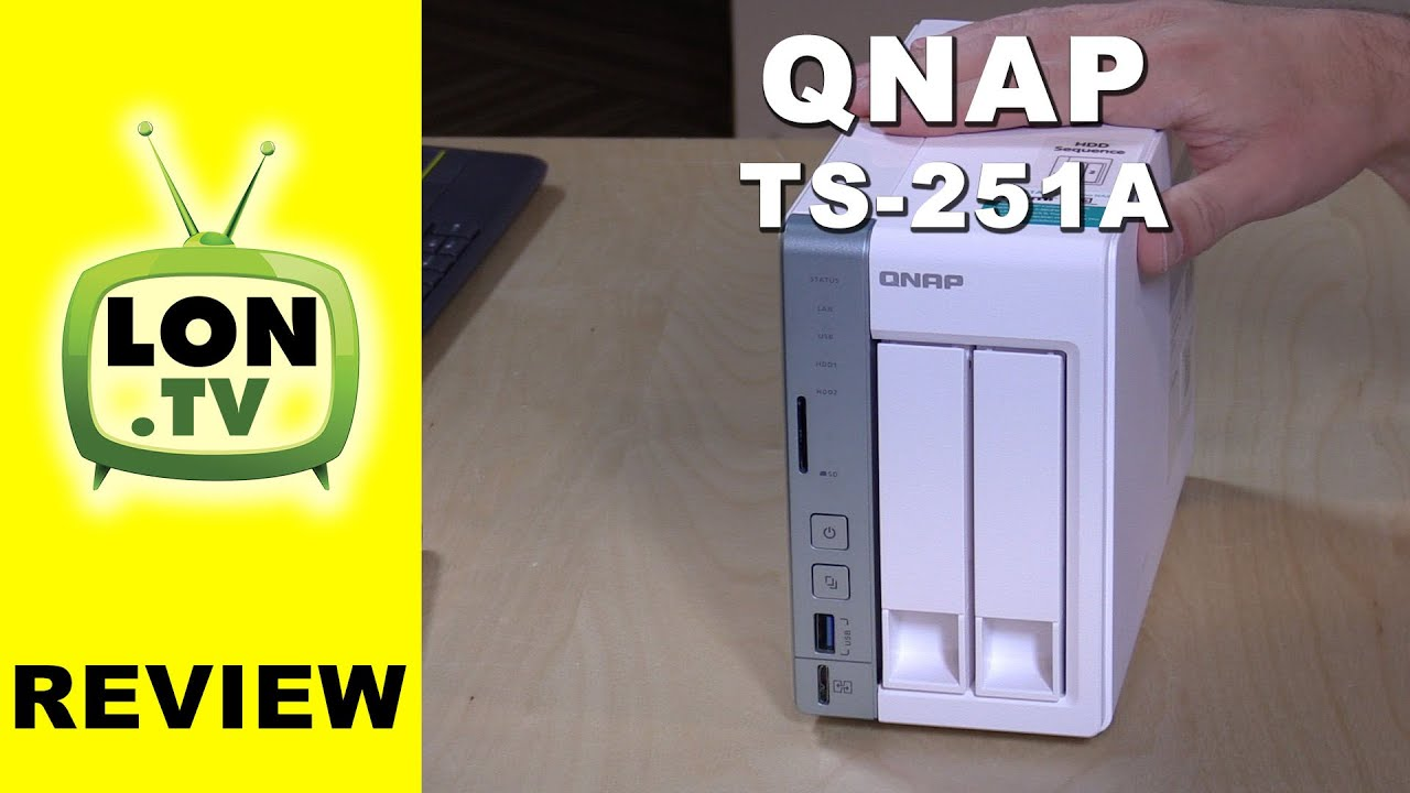 Qnap TS-251A / TS-451A Review - NAS with USB Direct connect , HDMI, and  Virtualization / Docker