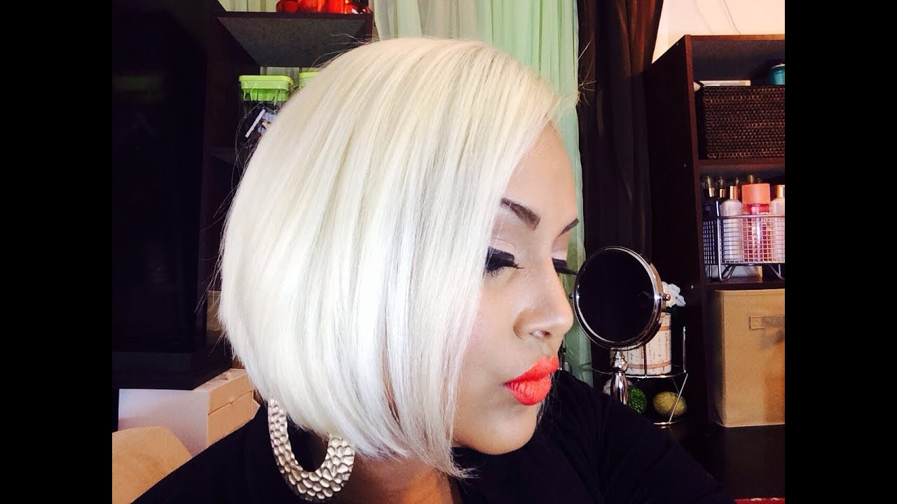 How To Get PLATINUM BLONDE HAIR!! - YouTube
