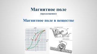 Магнитное поле в веществе v1